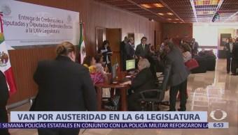 Inicia registro de diputados de la 64 Legislatura en México