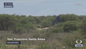 Inician retiro de los restos del avión de Aeroméxico