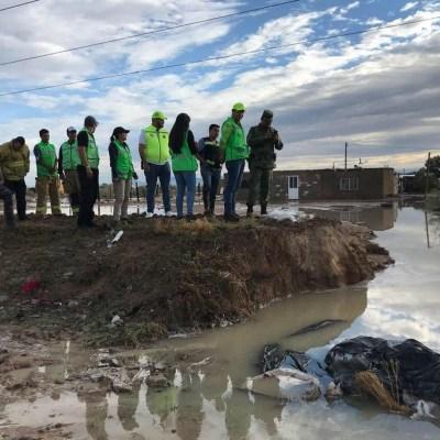 Lluvias en Durango afectan al menos 200 viviendas