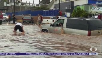 Inundaciones dejan un muerto en Sonora