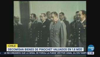 Decomisan Bienes De Augusto Pinochet Corte Chilena Exdictador Augusto Pinochet