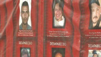Desaparecidos en Chihuahua: familiares exigen resultados