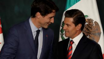 Trudeau, de acuerdo con México en naturaleza trilateral TLCAN