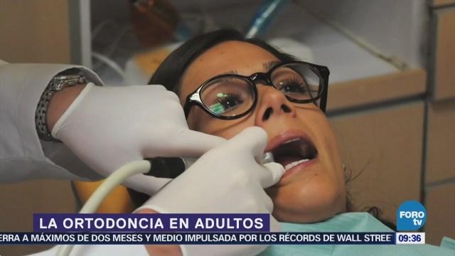 La ortodoncia en adultos mejora el proceso de masticado