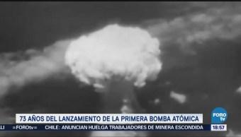 Lanzamiento Primera Bomba Atómica Cumple 73 Años