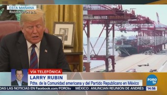 Larry Rubin Acuerdo Comercial México-Eu Brinda Certidumbre Regional