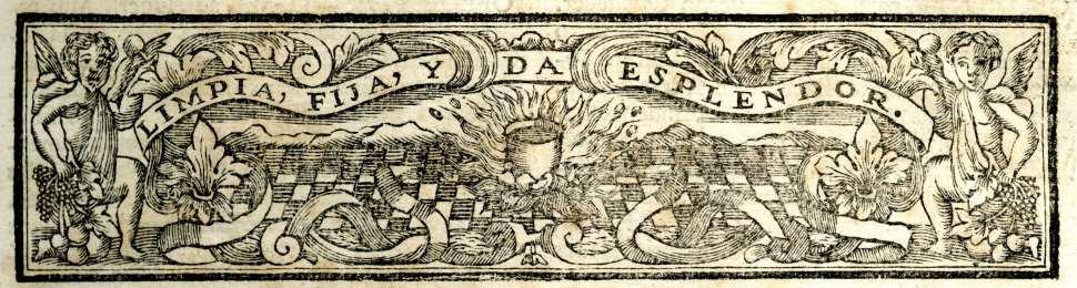 Lema de la Real Academia de la Lengua Española en 1737