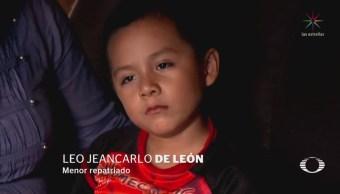Niño Migrante Retenido Nueva York Llega Guatemala,