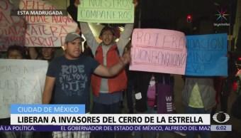 Liberan a cinco hombres detenidos en Iztapalapa
