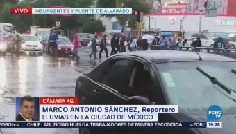 Llueve Intensidad Ciudad México