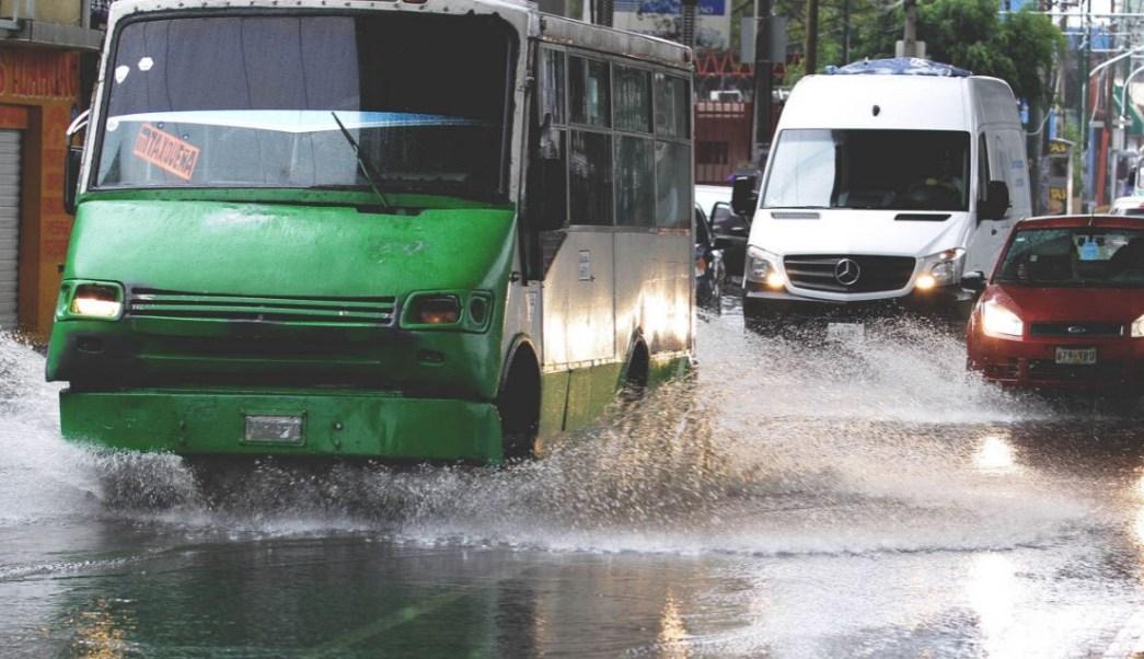 Lluvias en la CDMX hoy lunes 20 de agosto