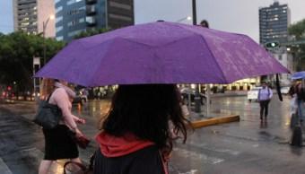 CDMX inicia la semana bajó la lluvia; activan alerta amarilla 9 delegaciones
