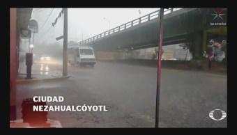 Lluvia Deja Afectaciones Viales Valle De México