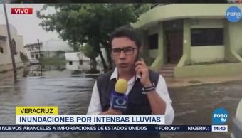 Lluvias Afectan 25 Colonias Municipio Veracruz
