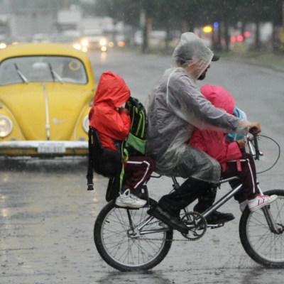 Ciudad de México registrará lluvias, chubascos y actividad eléctrica