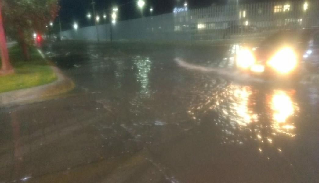 Inundaciones y encharcamientos deja fuerte lluvia en Durango