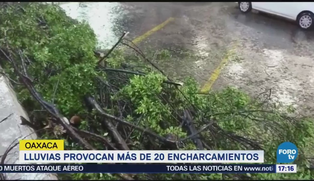 Lluvias Oaxaca Provocan Inundaciones Encharcamientos Afectaciones