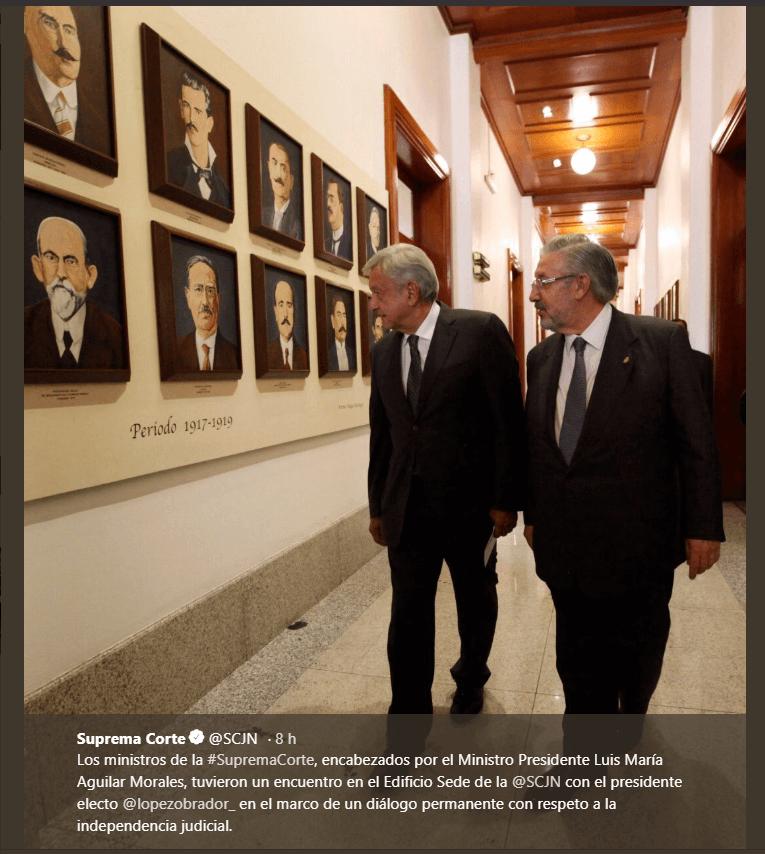 Corte ahorrará más de cinco mil millones, dice López Obrador