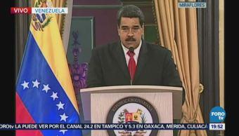 Maduro Habla Intento Atentado Contra Venezuela