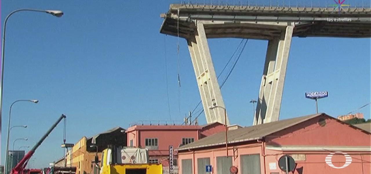 Suman 39 Muertos Derrumbe Puente Génova Italia