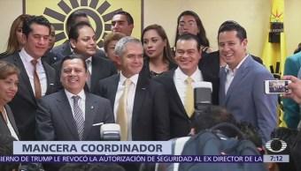 Mancera encabezará fracción del PRD en el Senado