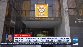 Manuel Granados dialoga con liderazgos locales del PRD