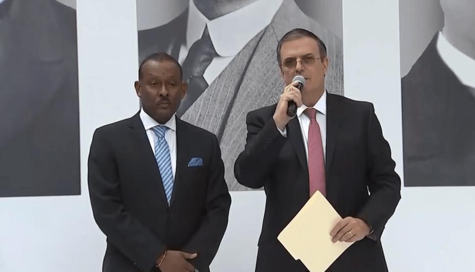 AMLO se reúne con embajadores de América Latina y el Caribe