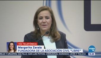 Margarita Zavala Habla Asociación Civil Libre