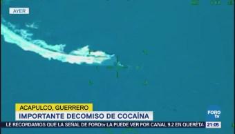 Marinos Decomisan Toneladas Cocaína Costas Guerrero
