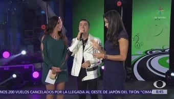 Mario Bautista ofrece musical en Al Aire