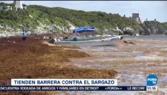 Extra Extra Barrera Contra El Sargazo Quintana Roo Autoridades De Quintana Roo Caribe Mexicano Playas