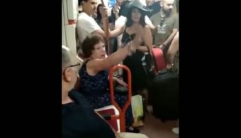 Metro-Madrid-Nina-Latina-Espana-Racismo