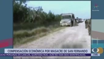 México compensará a 48 ecuatorianos víctimas de San Fernando