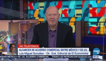 México logra victoria tras acuerdo comercial con Estados Unidos