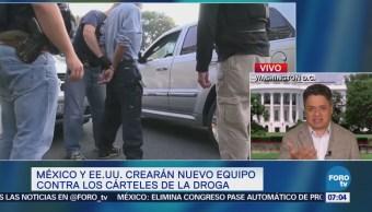 México y EU crean equipo contra narcotraficantes en Chicago