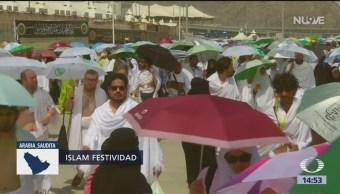Millones Musulmanes Peregrinan La Meca