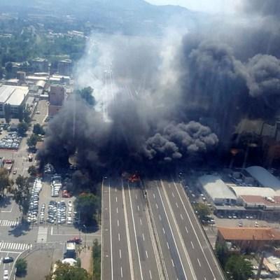 Suman 145 heridos tras la explosión de Bologna, Italia