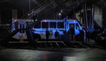 Asalto a trasporte de pasajeros termina con muerte de hombre Zaragoza