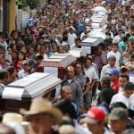 Muertos y desaparecidos erupción Volcán fuego