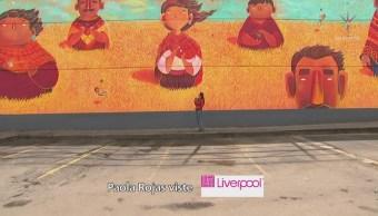 Mural en Central de Abasto CDMX honra el trabajo digno
