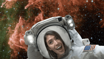 NASA ofrece app para tomarte selfie espacial