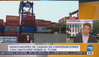 Negociación comercial de Canadá y EU entra en etapa de tomar decisiones