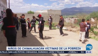 Niños Chimalhuacán Víctimas Pobreza Estado de México