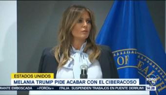 Melania Trump Pide Responsable Redes Sociales