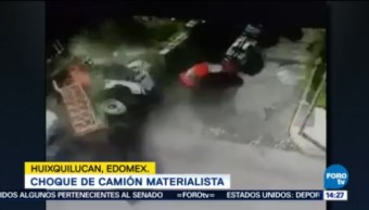 Publican Momento Exacto Accidente Huixquilucan, Edomex