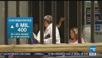 Sat Detecta 2.04 Billones Pesos Facturas Falsas