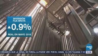 Inversión Fija Bruta Avanza 0.9% Durante Mayo Inegi