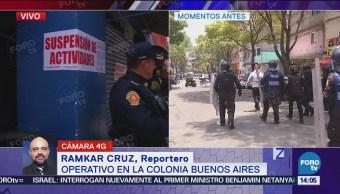 Detienen Persona Durante Operativo Colonia Buenos Aires