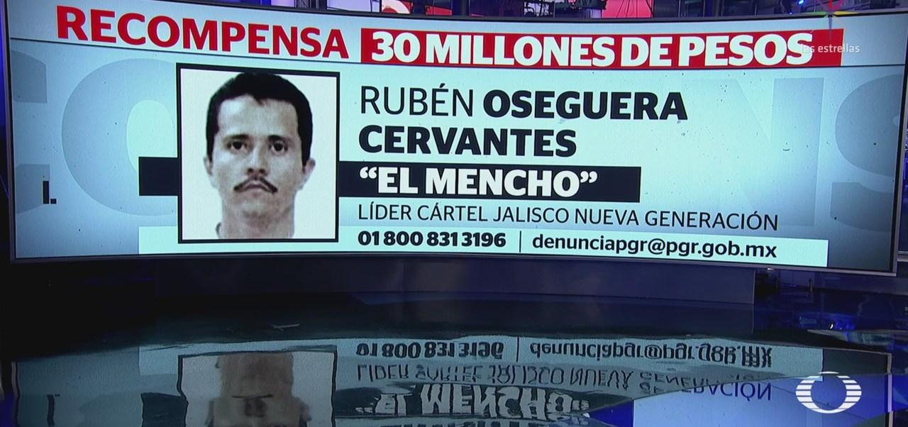 Ofrecen 30 Mdp Información El Mencho, Menchito