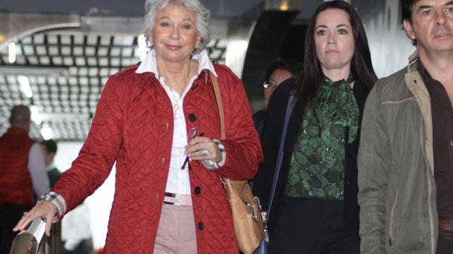 Olga Sánchez Cordero anuncia a la sustituta de Clouthier